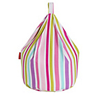 more details on Striped Pink Beanbag.