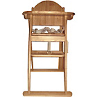 more details on East Coast Wooden Folding Highchair - Natural Colour.