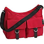 more details on Little Lifestyles City Hobo Baby Changing Bag  - Raspberry.