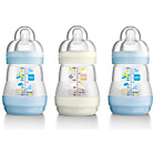 more details on MAM Anti-Colic160ml Bottle 3 Pack - Blue and Green.
