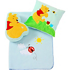 more details on Winnie the Pooh Nap Set Blanket/Cushion - Pooh Bear.
