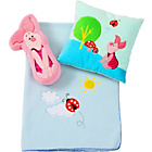 more details on Winnie the Pooh Nap Set Blanket/Cushion - Piglet.