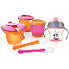 more details on Tommee Tippee Explora Weaning Kit Pink