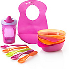 more details on Tommee Tippee Explora Feeding Kit Pink