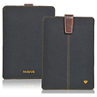 more details on NueVue Cotton Twill iPad Mini Case - Black/Orange