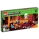 more details on LEGO® Minecraft The Nether Fortress - 21122.