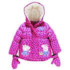more details on Peppa Pig Girls' Puffer Coat with Mittens.