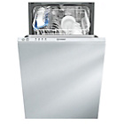 more details on Indesit Ecotime DISR 14B Built-in Dishwasher - White