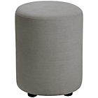 more details on Habitat Emil Upholstered Stool - Grey.