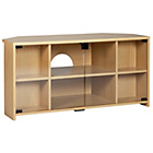 more details on HOME Chequer Corner TV Unit - Beech Effect.