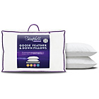 more details on Slumberdown Sleepwell Goose Feather and Down Pillows - BOGOF