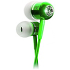 more details on BassBuds In Ear Headphones with MP3 Controller - Green