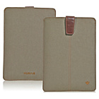 more details on NueVue Cotton Twill iPad Air Case - Khaki/Pink