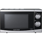 more details on Morphy Richards P80D20P 20L Manual Solo Microwave - Silver.