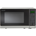 more details on Sharp R372SLM 25L Solo Microwave - Silver.