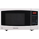 more details on Morphy Richards ES823ENN 23L Combi Microwave - White.