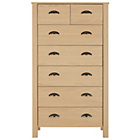 more details on Marlow 5 + 2 Drawer Chest - Oak Effect.