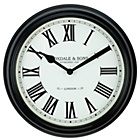 more details on Heart of House Foxdale Classic Black Wall Clock.