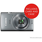 more details on Canon Ixus 165 20MP 8x Zoom Compact Digital Camera - Silver.