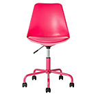 more details on Mid-Back Gas Lift Brady Office Chair - Pink