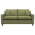 more details on Heart of House Newbury Fabric Check Sofa Bed - Olive.