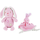 more details on Chad Valley Baby My First Teddy and Comforter Pink.