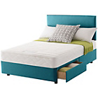 more details on Layezee Calm Memory Micro Quilt Small Double 2 Drw Divan Bed