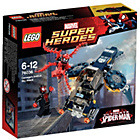 more details on LEGO® Super Heroes Carnages Shield Sky Attack - 76036.
