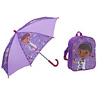 more details on Doc McStuffins Backpack and Umberella - Purple.