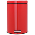 more details on Brabantia Class 20L Pedal Bin - Passion Red.