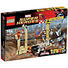 more details on LEGO Super Heroes Rhino and Sandman Villian Team - 76037.