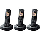 more details on Panasonic Cordless Telephone with Answer Phone - Triple.