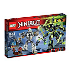 more details on LEGO Ninjago Titan Mech Battle - 70737.