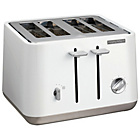 more details on Morphy Richards 240003 Aspect 4 Slice Toaster - White.