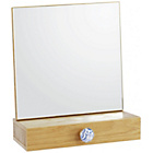 more details on Habitat Fleur oak dressing table mirror