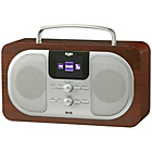 more details on Bush Wood DAB Radio Oak w/colour display