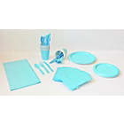 more details on Solid Colour Baby Blue Party Kit.
