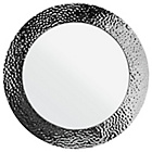 more details on Heart of House Metal Hammered Wall Mirror - Stainless Steel.