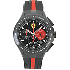 more details on Scuderia Ferrari Mens' Race Day Red and Black Strap Watch.