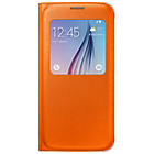 more details on Samsung Galaxy S6 S-View Cover - Orange