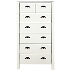 more details on Marlow 5 + 2 Drawer Chest - White.