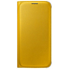 more details on Samsung Galaxy S6 Flip Wallet Cover - Yellow