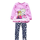 more details on Disney Frozen Girls' Top and Leggings - 3-4 Years.