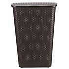 more details on Curver 55 Litre Laundry Hamper - Chocolate.