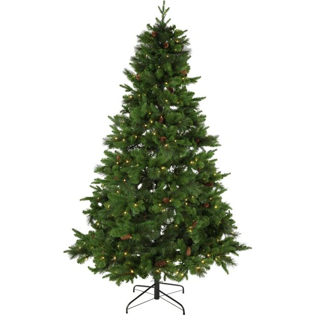 Christmas Tree Uk Online: Buy Berry And Cone Christmas Tree
