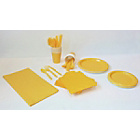 more details on Solid Colour Yellow Party Kit.