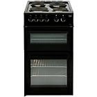 Beko BD533AK Double Electric Cooker - Black