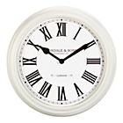 more details on Heart of House Foxdale Classic Ivory Wall Clock.
