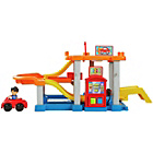 more details on Fisher-Price Little People Racin' Ramps Garage.