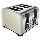 more details on Russell Hobbs Cream 4 Slice Toaster - Cream.